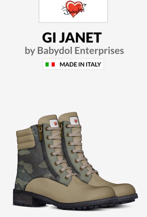 GI JANET Ladies Leather Boots