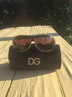 DOLCE & GABBANA Auth Bling Sunglasses
