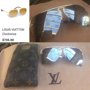 LOUIS VUITTON Clockwise Sunglasses Auth