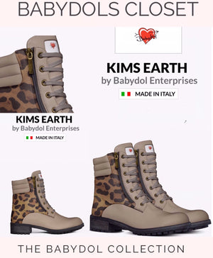 KIMS EARTH Beverly Hills Housewife Leather Sports Boot inspired by RHOBH Kim Richards