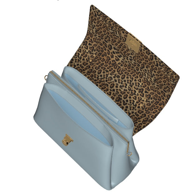 BLUE ANGEL Leather Top Handle Bag