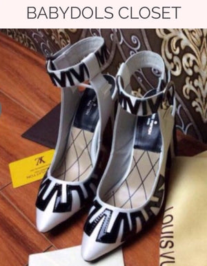 Louis Vuitton White Leather Graffiti  Shoes Auth