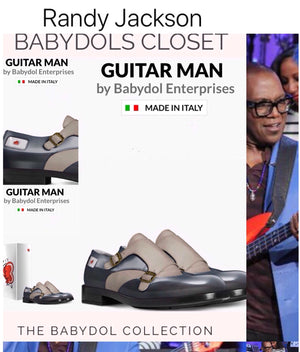 GUITAR MAN Leather Shoe Inspired by RANDY JACKSON