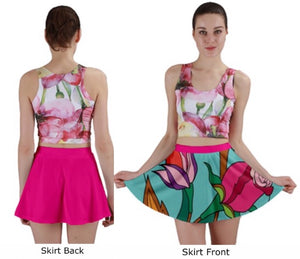 BLOSSOM by BABYDOL Mini Skirt; Match to Mask