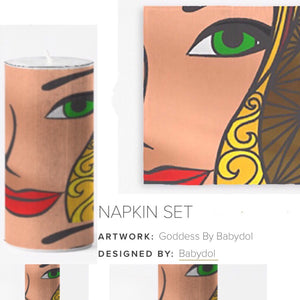 GODDESS Table Napkins