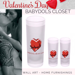 BABYDOL ShotGlass 4Ever LOVE 2pc SET