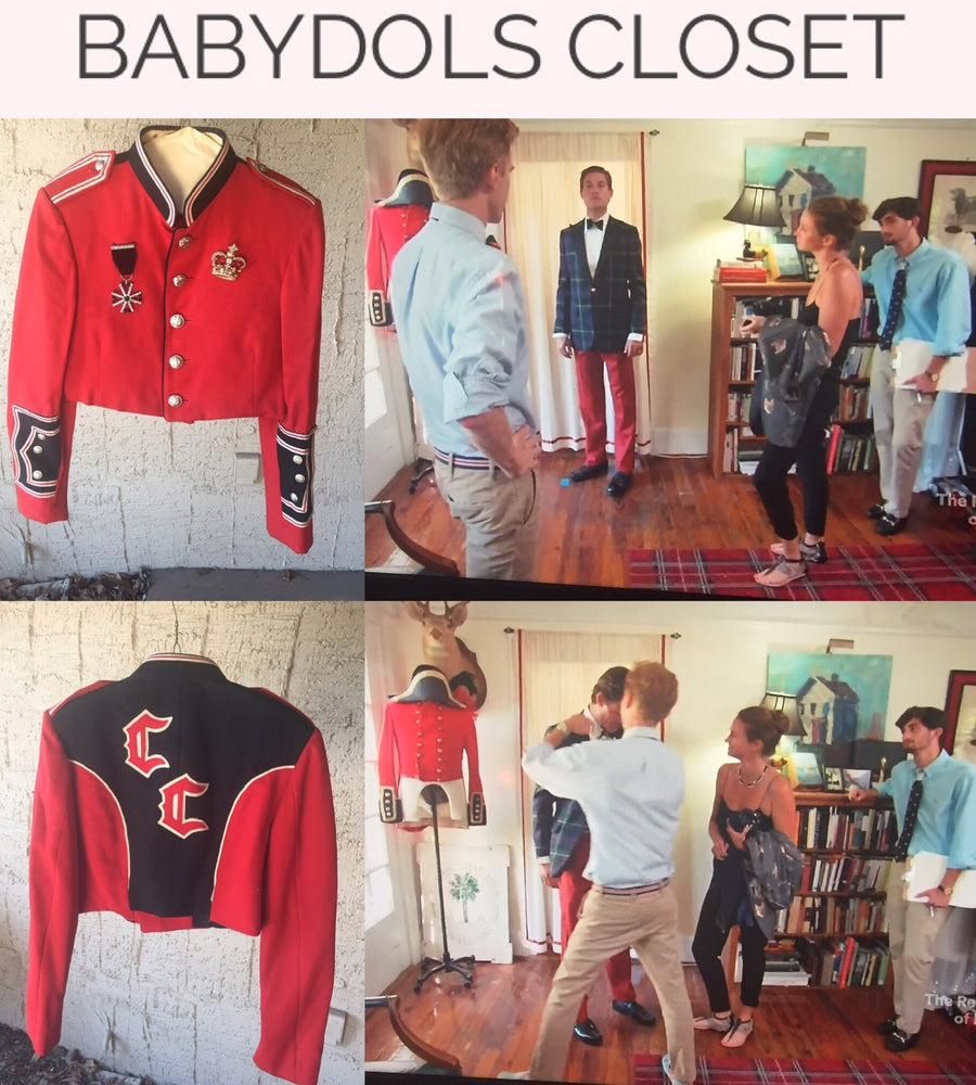 AMERICAN DOLL Patriot Jacket as seen on Bravo TV's Southern Charm.