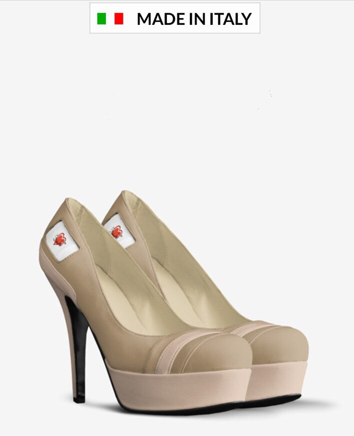 GODDESS Leather Pump