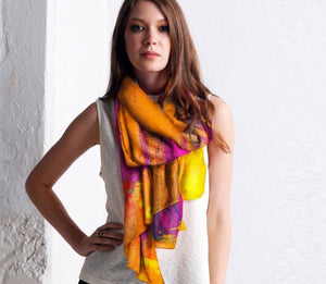 BUTTERFLY Cashmere Modal Scarf