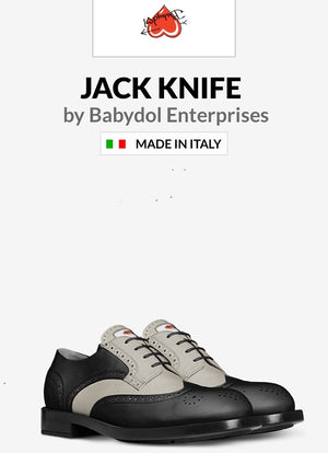 JACK KNIFE Leather Shoes