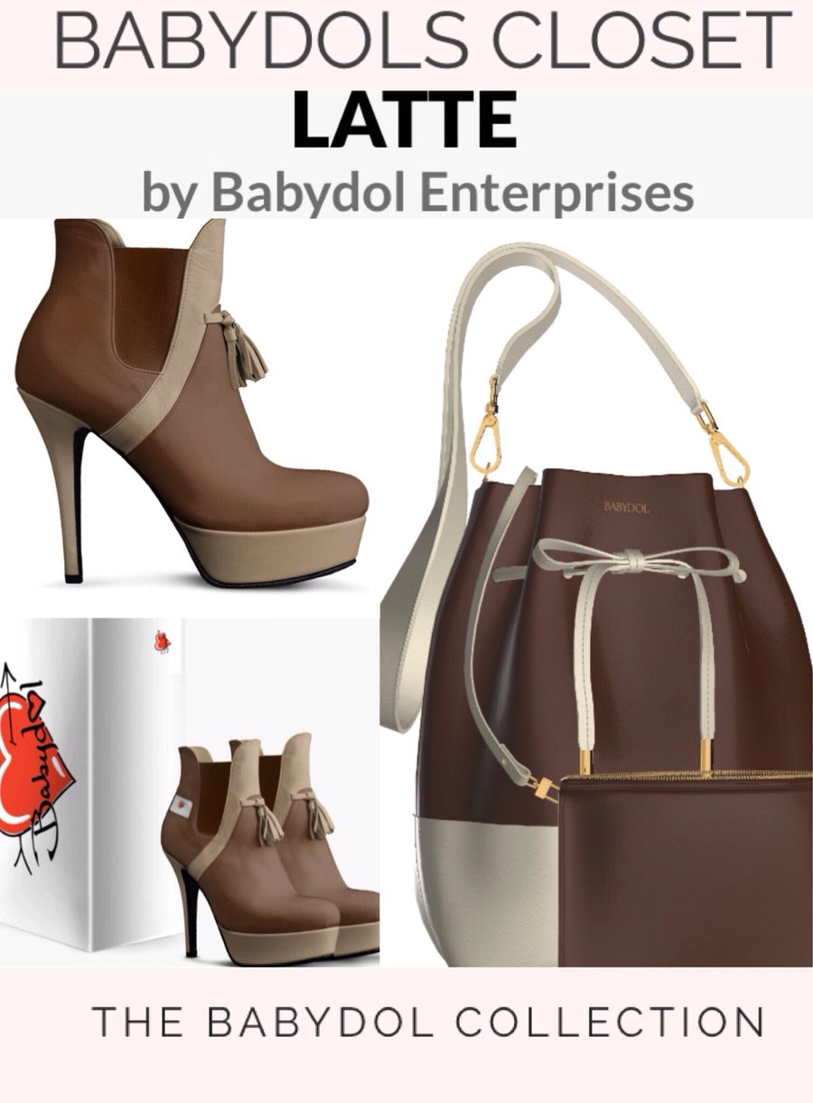 EXPRESSO Brown Leather Ankle Boot