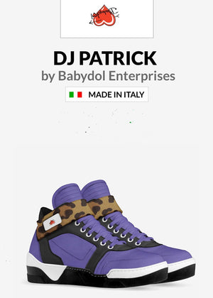 DJ PATRICK Leather Sports Sneaker