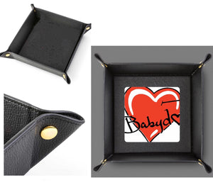 Gentlemans BABYDOL Leather Valet Tray