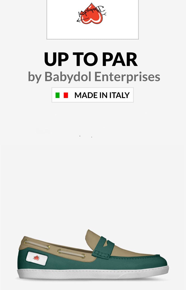 UP TO PAR MENS Leather Golf Shoe