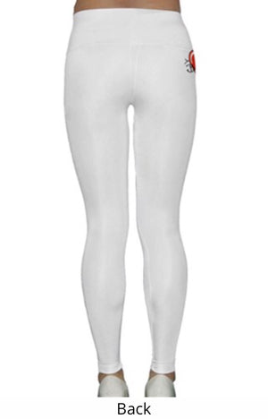 BABYDOL Gym Diva Leggings Straight Leg (White)