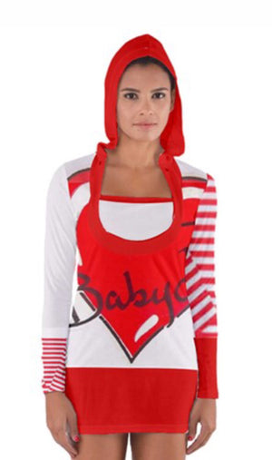 BABYDOL Tee Shirt Hoodie Dress