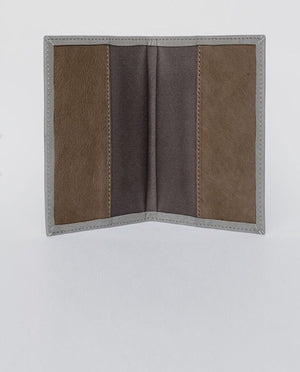 The BALLER Leather Passport Case