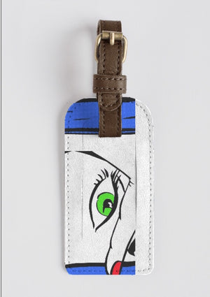VIXEN Leather Luggage Tag
