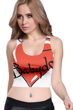 BABYDOL Sleeveless 2-way Crop Top