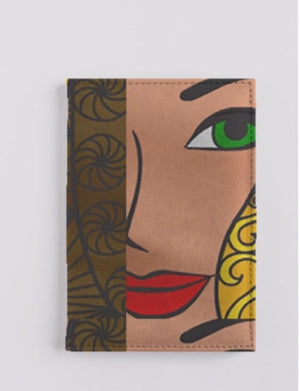 GODDESSLeather Passport Case