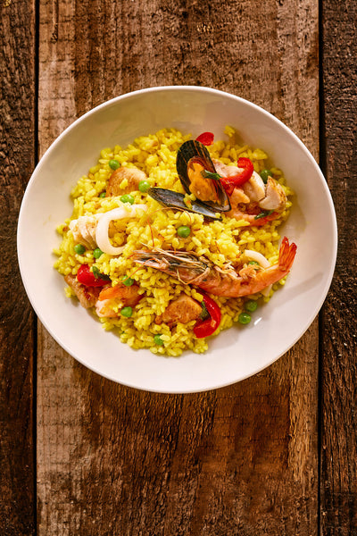Traditional Seafood Paella