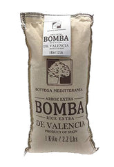 Bomba Rice Extra. High-quality Spanish rice ideal for Paella.