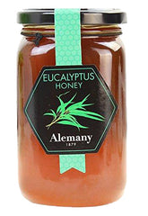 Alemany 1879 Eukalyptus Honey (500gr.) - 100% Spanish, raw, all-natural, and organic honey.