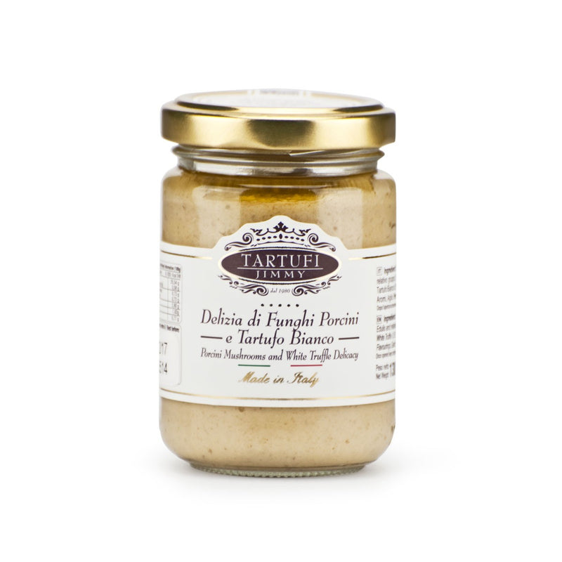 Tartufi Porcini Mushrooms and White Truffle Delicacy 180 gr
