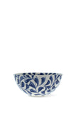 villa bologna handmade blue maltese small bowl