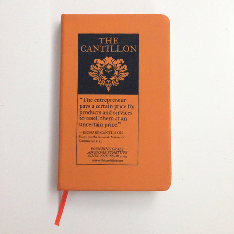 "Carnet type Moleskine ""The Cantillon"""