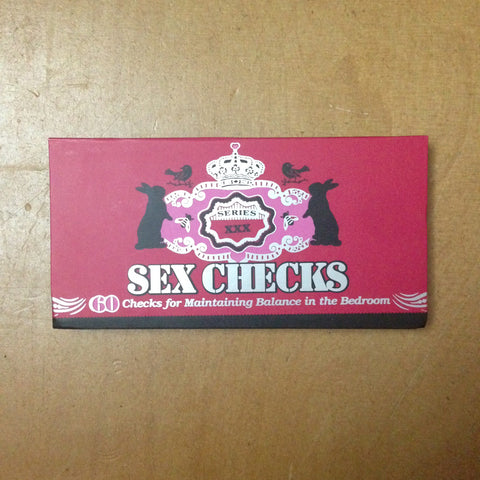 Carnet de Sex checks