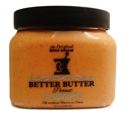 BETTER BUTTER * BCAA infused nut butter