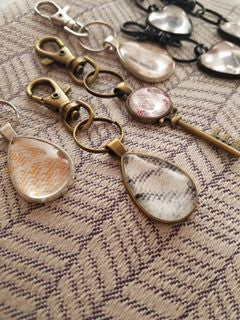 Wrap Scrap Keychains