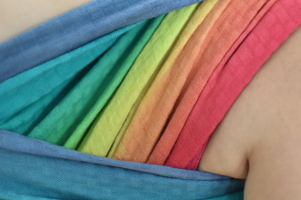 "Juno Squares - size 6 - dyed ""Pride"""