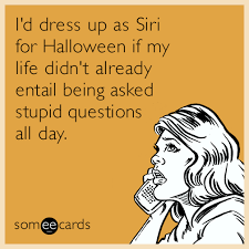 DHC Monthly Meme Roundup Halloween Edition Siri Stupid People