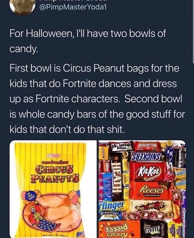 DHC Monthly Meme Roundup Halloween Edition Fortnite Candy