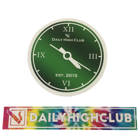 DAILY HIGH CLUB 4:20 STICKER SET