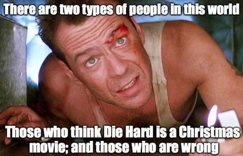 DHC December 2018 Monthly Meme Roundup Diehard is a Christmas Movie