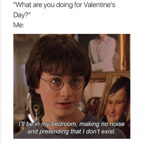 Harry Potter Valentines Forever Alone DHC 2019 Memes
