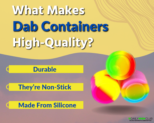 Dab-containers