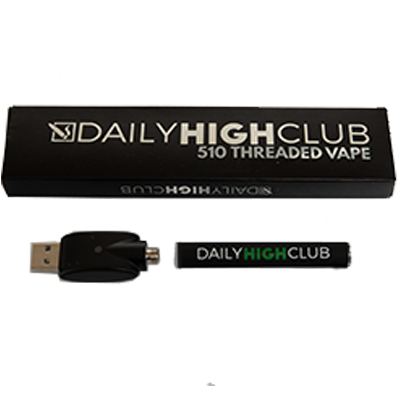 Daily High Club 510 Threaded Vape Battery and Charger