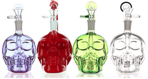 Daily High Club Skull Bongs