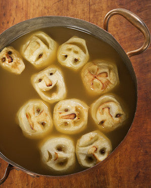 Halloween Munchies for a Spooktacular Holiday Shrunken Head Cider