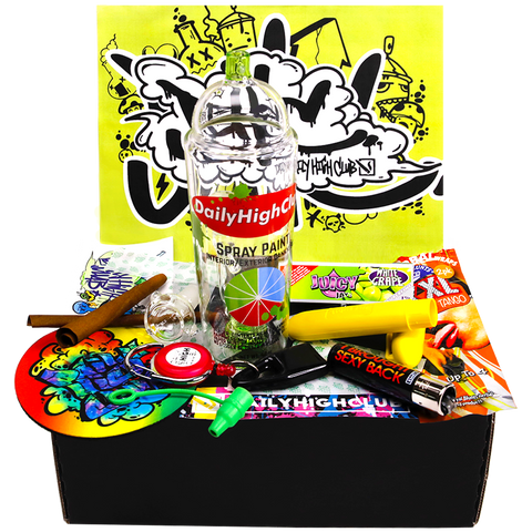 Daily High Club July Graffiti Smoking Subscription Box