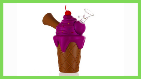 silicone ice cream bong