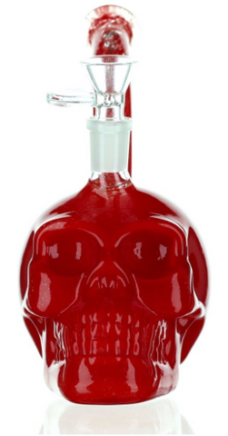 "Daily High Club Limited Edition ""Crimson Skull"" Dab Rig/Bong"