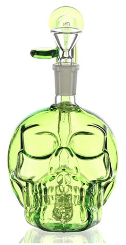"Daily High Club Limited Edition ""Slime Green Skull"" Dab Rig/Bong"