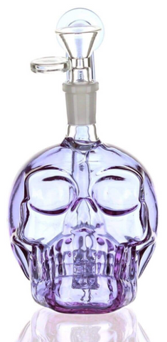 "Daily High CLub Skull Bong / Dab Rig ""Purp Edition"""