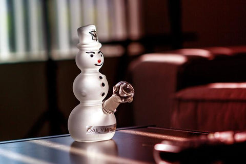 DHC Top 10 Novelty Glass Pieces Snowman Rig