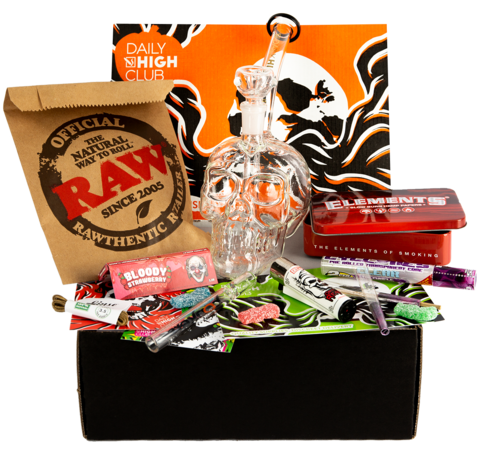 Unboxing Daily High Clubs October Smoking Supplies Full Box